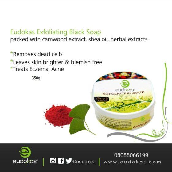 Exfoliating Black Soap 560x560 - Home