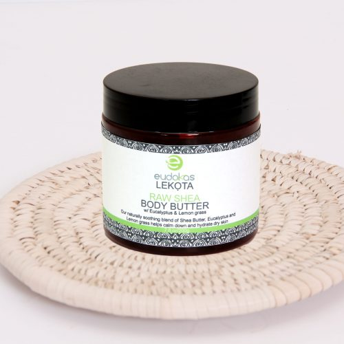 Eudokas Lekota Raw Shea Body Butter With Eucalyptus