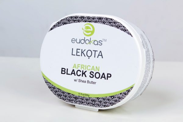 IMG 4674 600x400 - Eudokas Lekota African Black Soap with Shea Butter (Paste)
