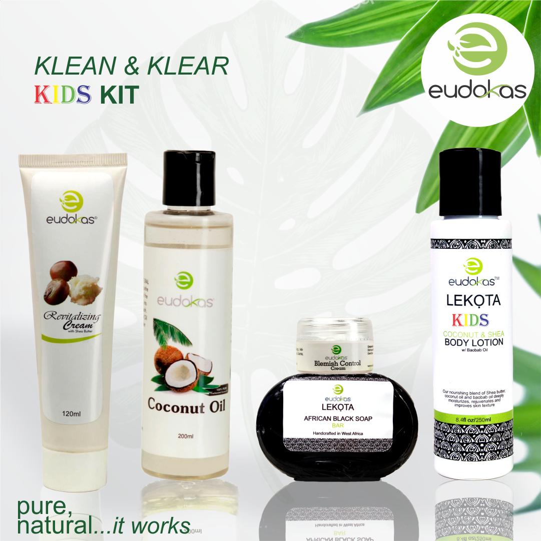 Eudokas Klean & Klear Kids Kit